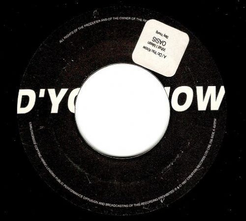 OASIS D'You Know What I Mean Vinyl Record 7 Inch Creation 1997..